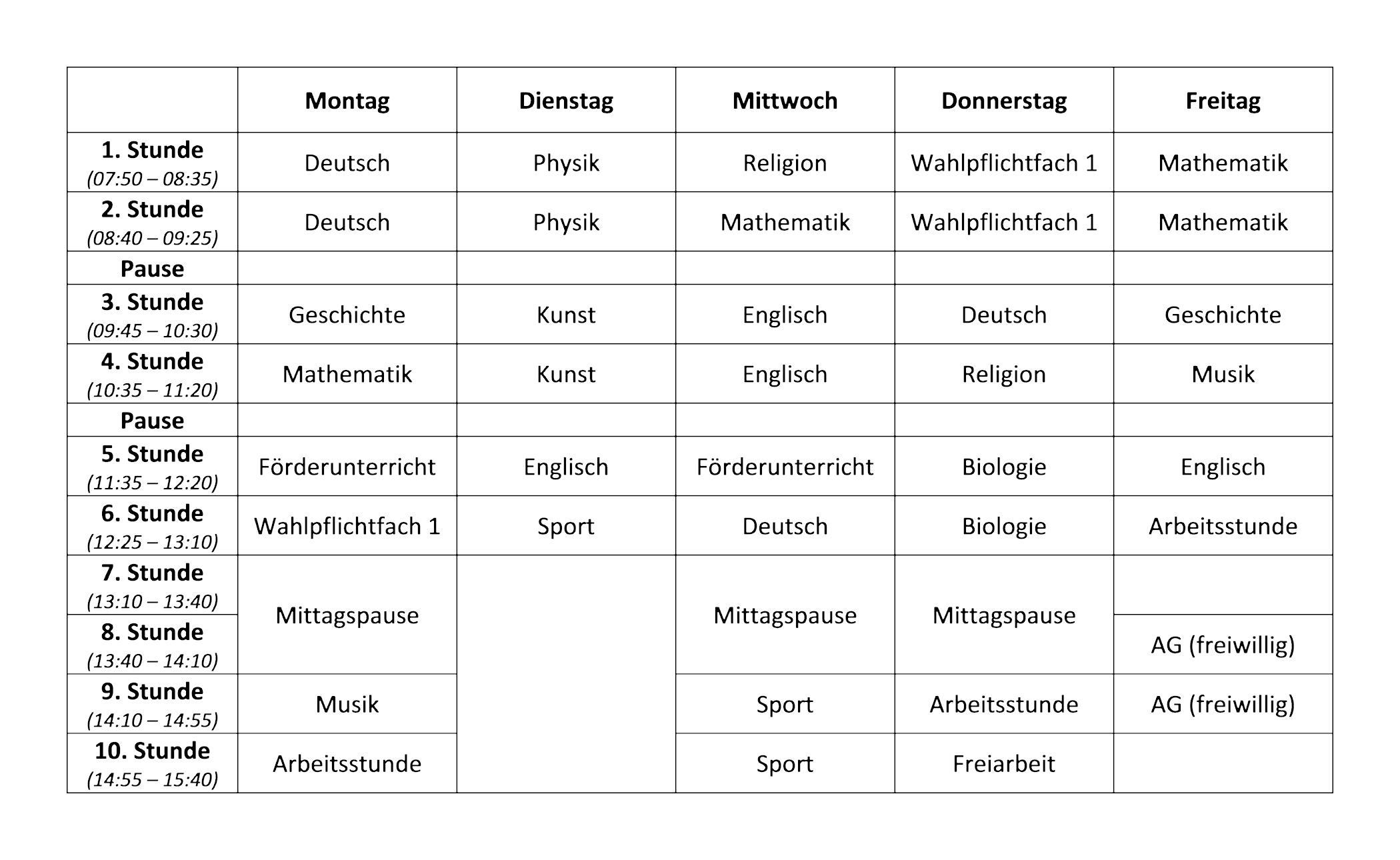Schön Sonntag Schule Zeitplan Vorlage Ideen - Entry Level Resume ...