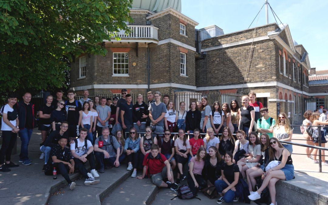 Londonfahrt der Jahrgangsstufe 11