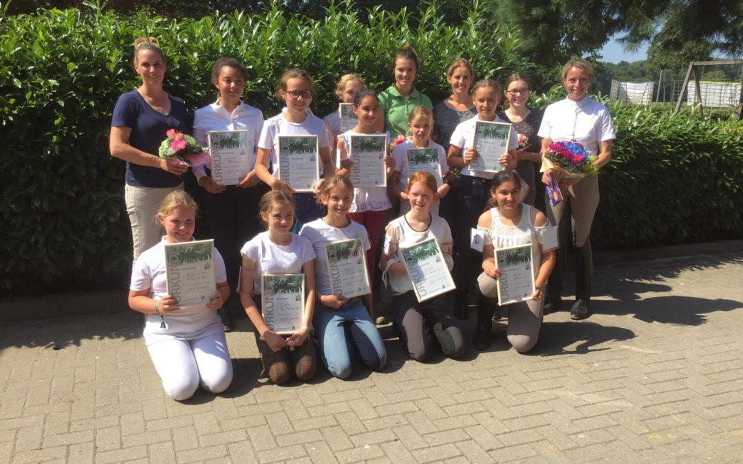 Reit-AG: erfolgreiche Abschlussprüfungen