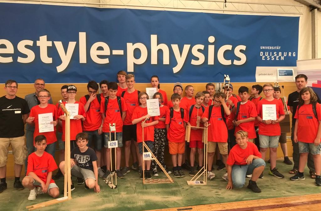 freestyle-physics 2019 – ein guter Start