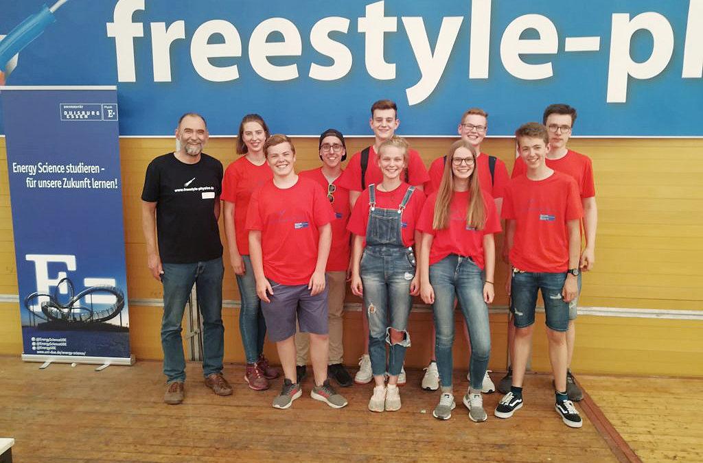 freestyle-physics 2019 – Gesamtschule Mittelkreis zieht positive Bilanz