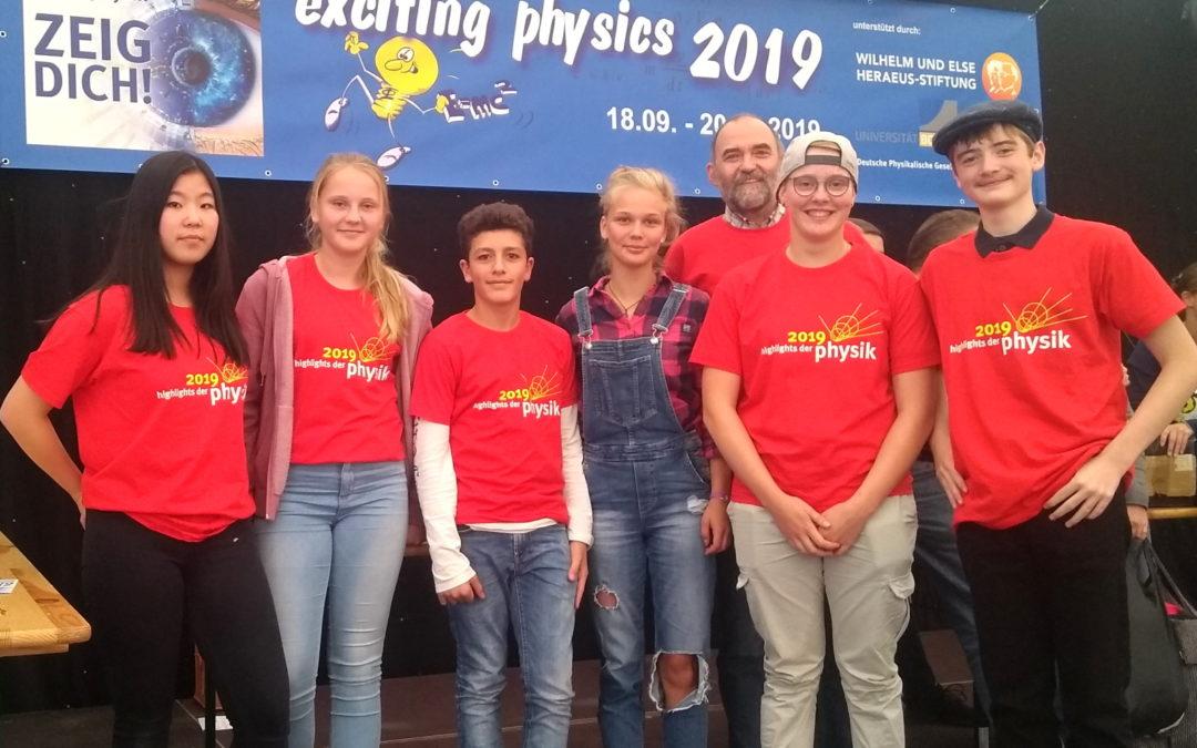 Exciting Physics – spannende Wettbewerbe zu Lande, zu Wasser und in der Luft