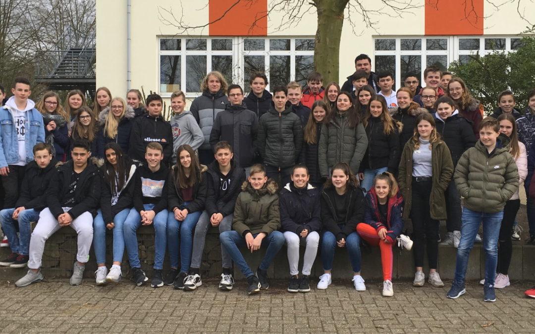 Schüleraustausch mit dem Pax Christi College in Druten